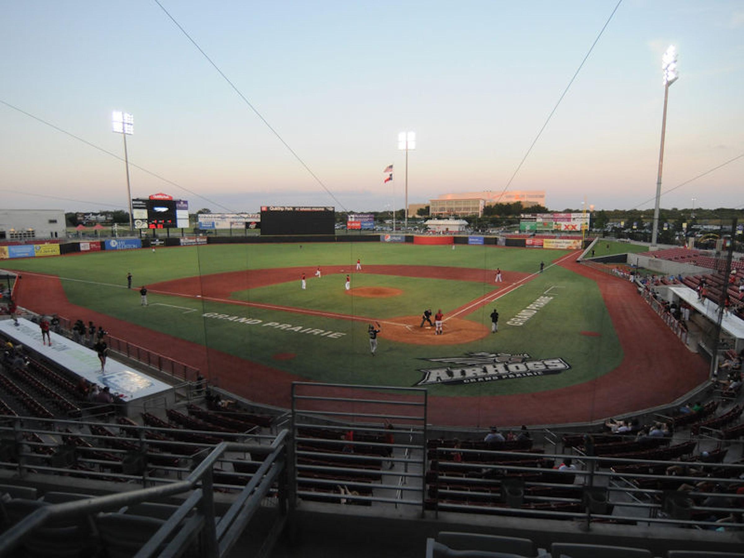 AirHogs Stadium in Beyond Dallas