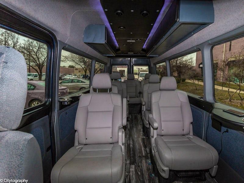 Private Sprinter Van in North Dallas