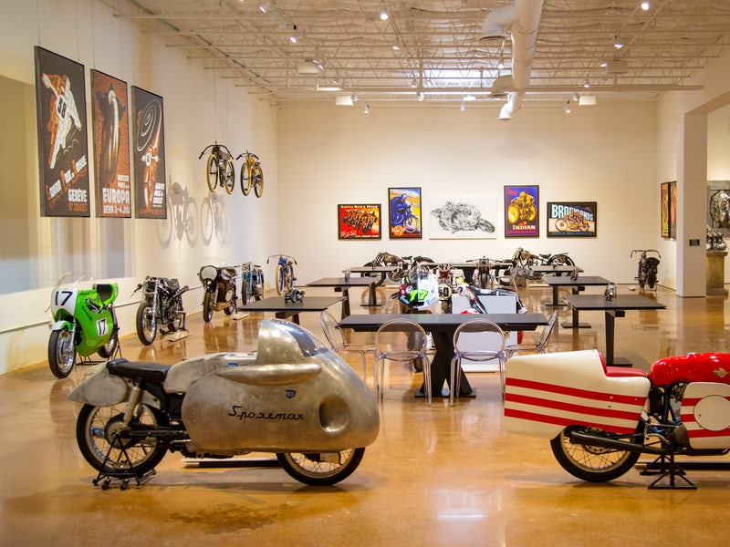 HAAS Moto Museum in Beyond Dallas