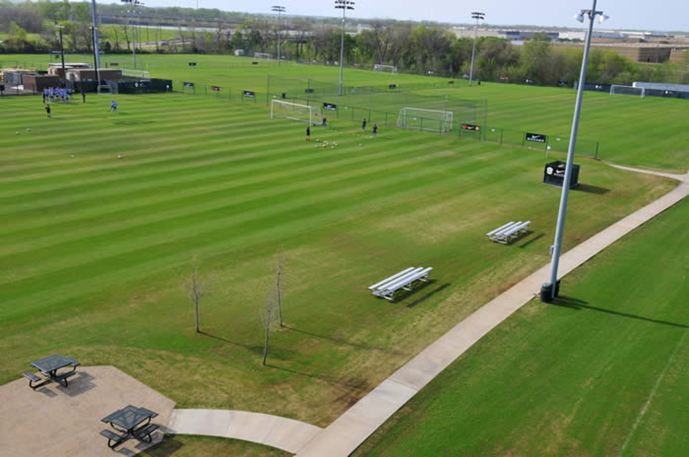 Ross Stewart Soccer Complex in Beyond Dallas