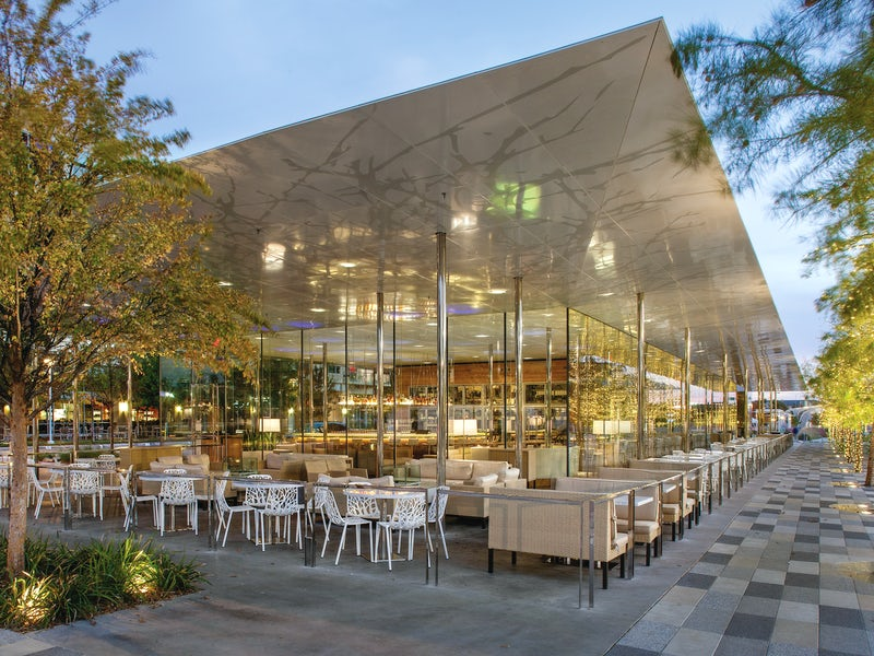 Savor in Klyde Warren Park in Beyond Dallas