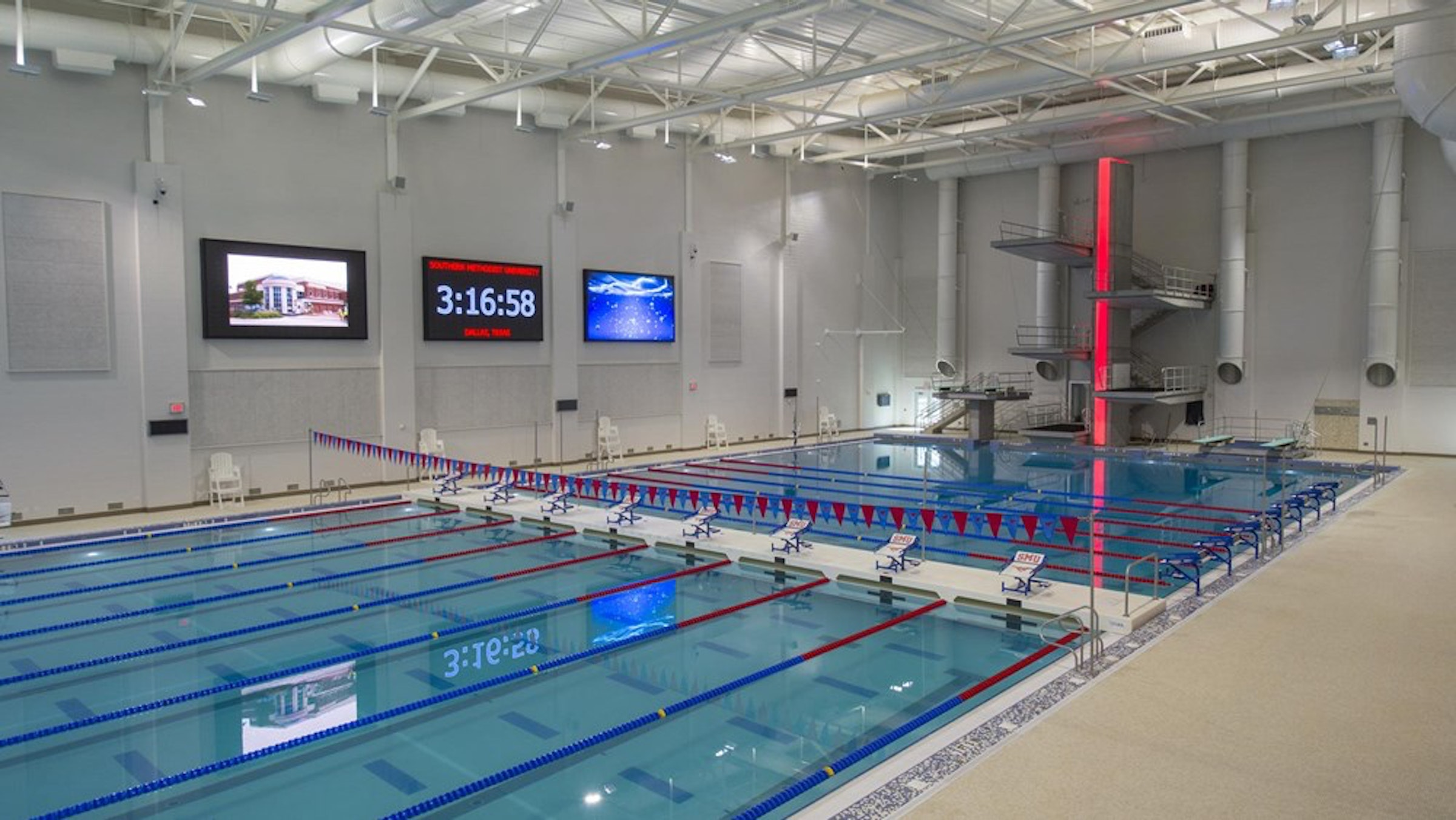 SMU - Robson & Lindley Aquatic Center in Beyond Dallas