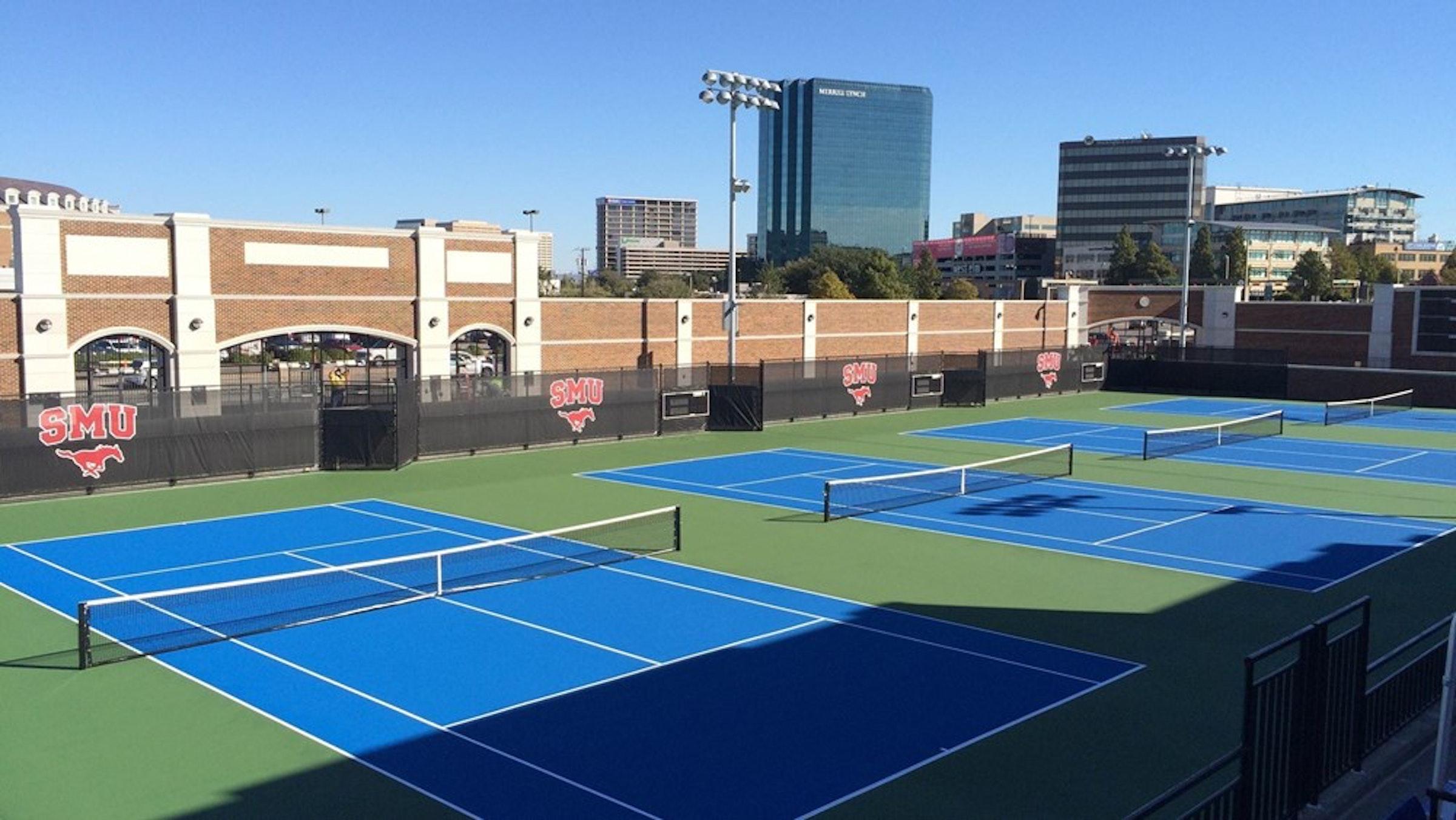 SMU - Tennis Complex in Beyond Dallas