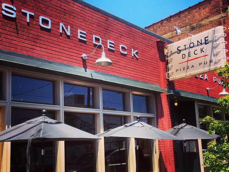 Stonedeck Pizza Pub in Beyond Dallas