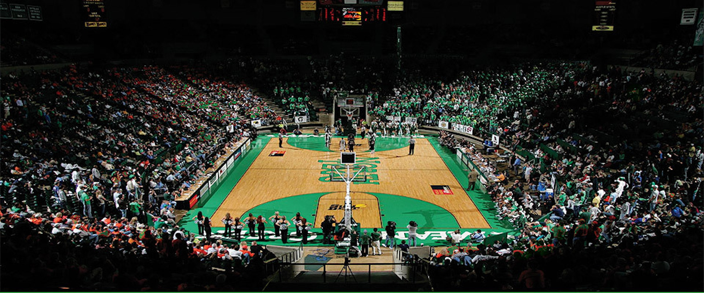UNT - North Texas Coliseum in Beyond Dallas