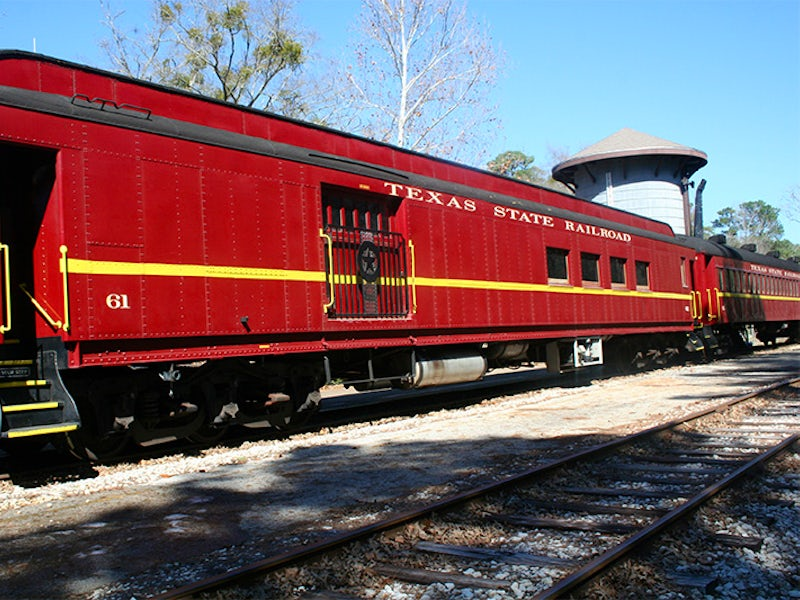 Texas State Railroad in Beyond Dallas