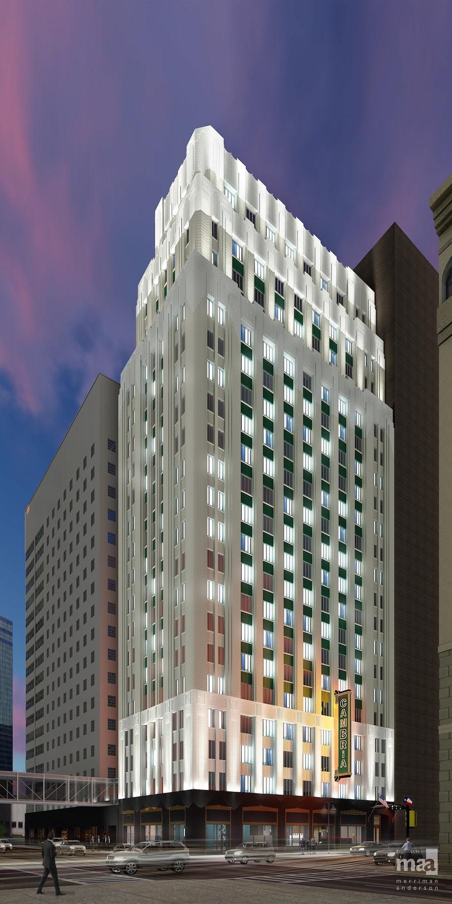Cambria Hotel Dallas Downtown in Beyond Dallas