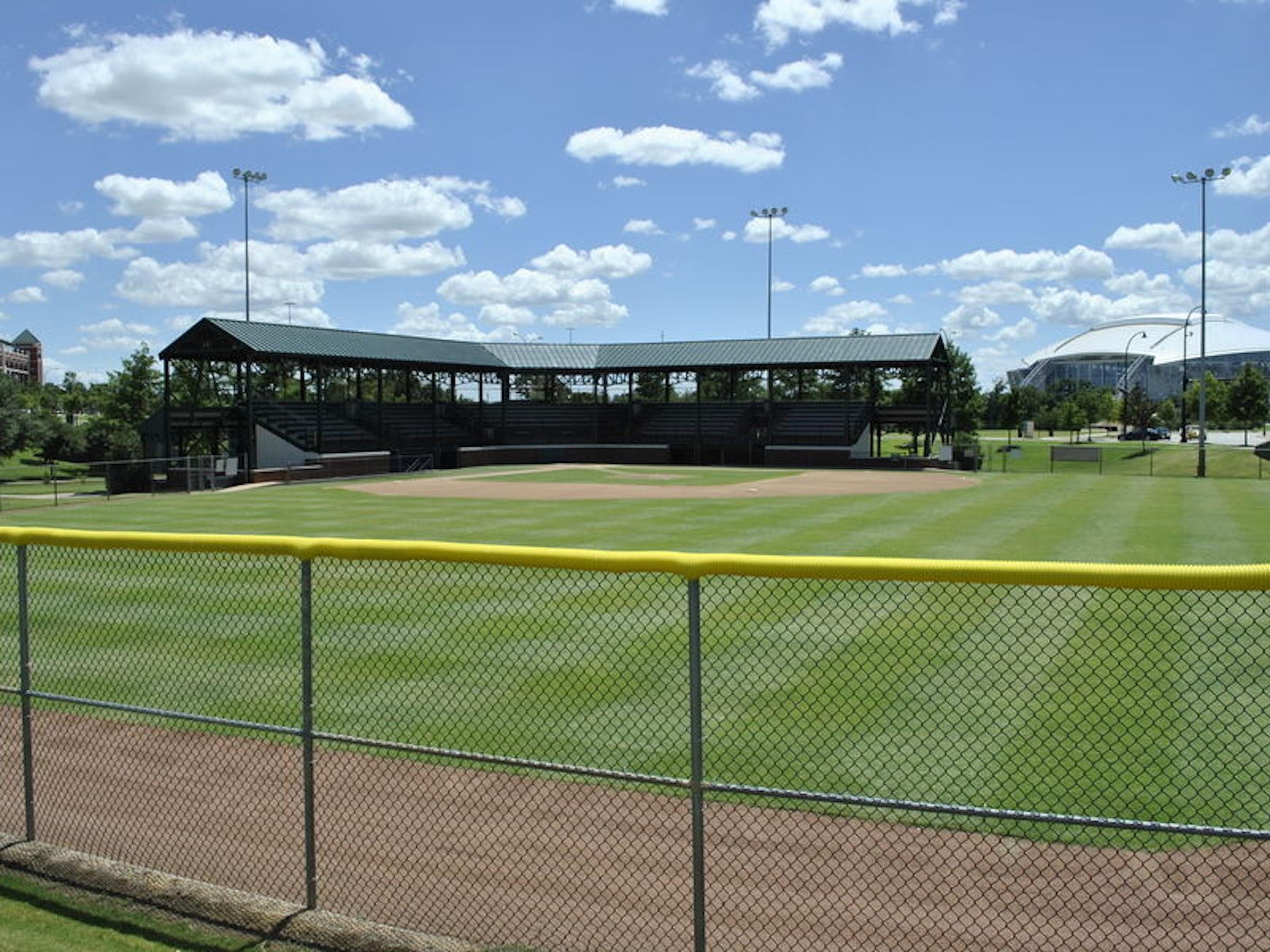 Texas Rangers Youth Ballpark in Beyond Dallas