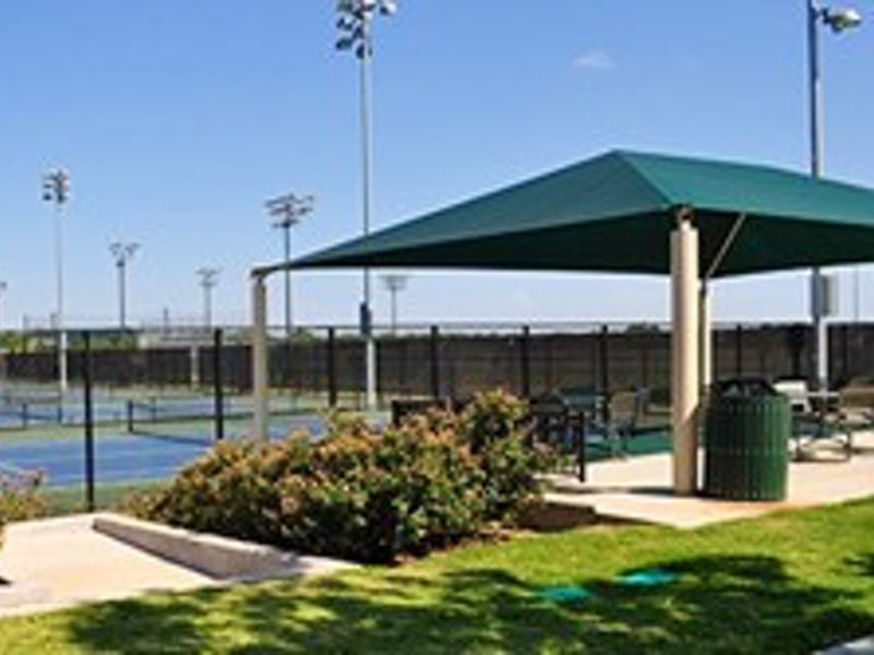 UTD Tennis Center in Far North Dallas