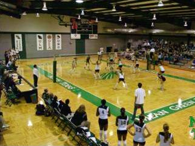UNT Volleyball Center in Beyond Dallas