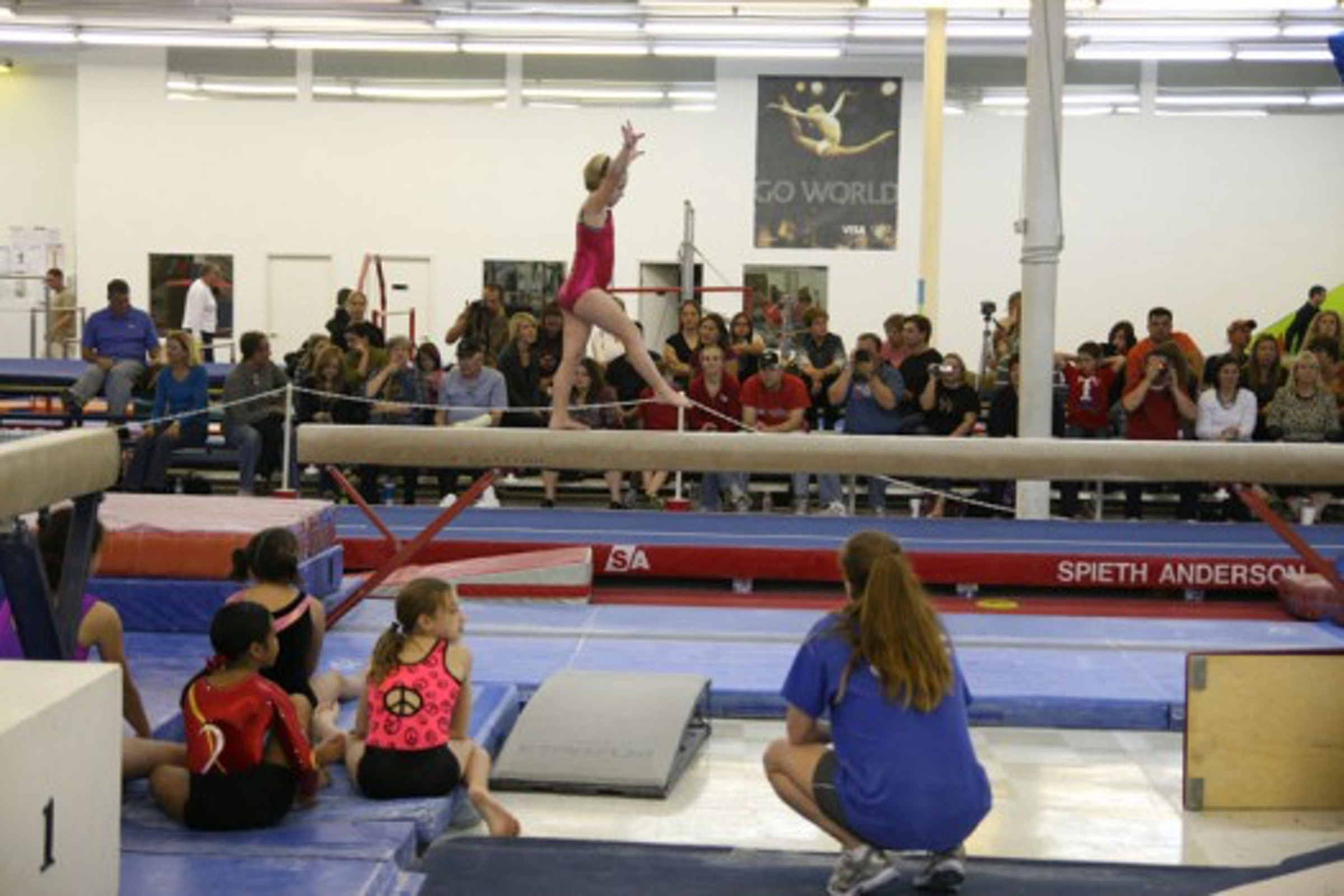 World Olympic Gymnastics Academy- Frisco
