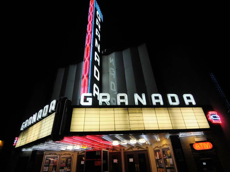Granada Theater in Lower Greenville