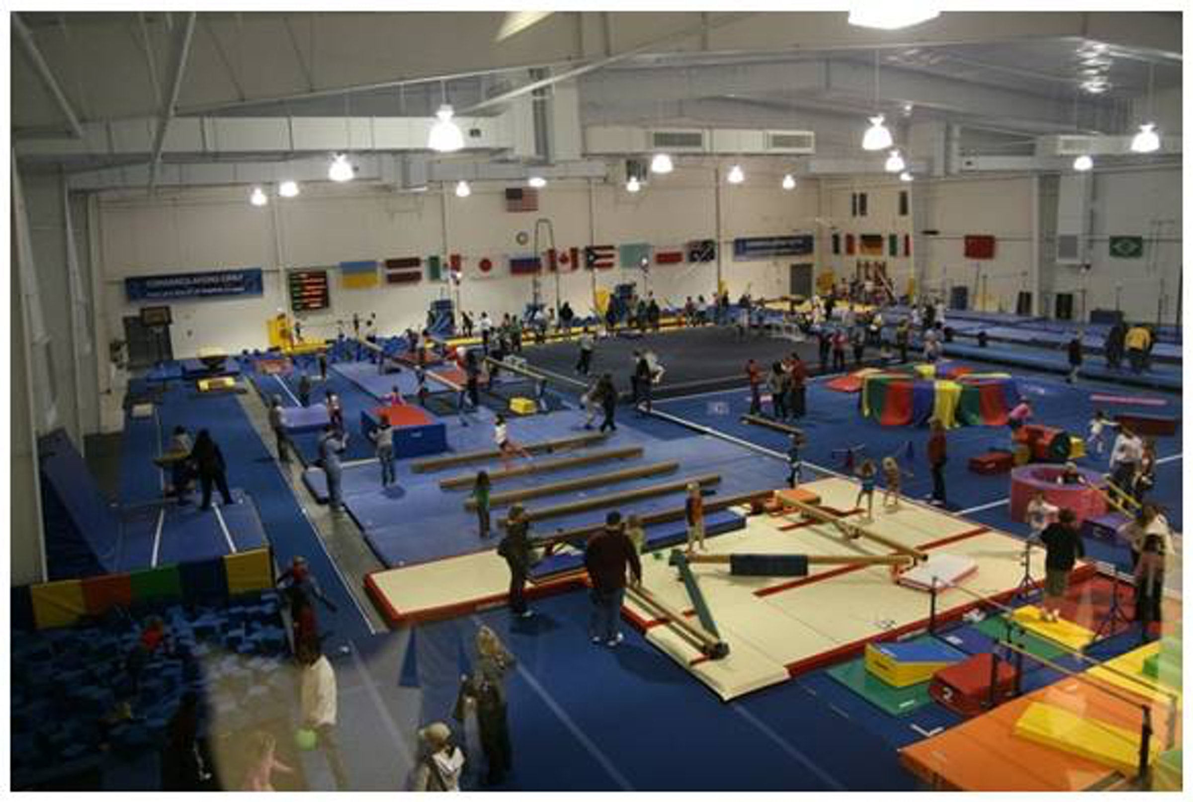 World Olympic Gymnastics Academy-Plano