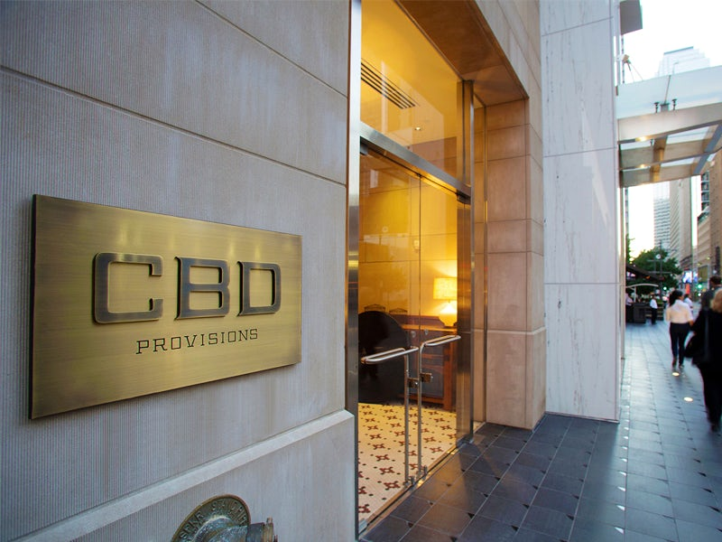 CBD Provisions in Downtown