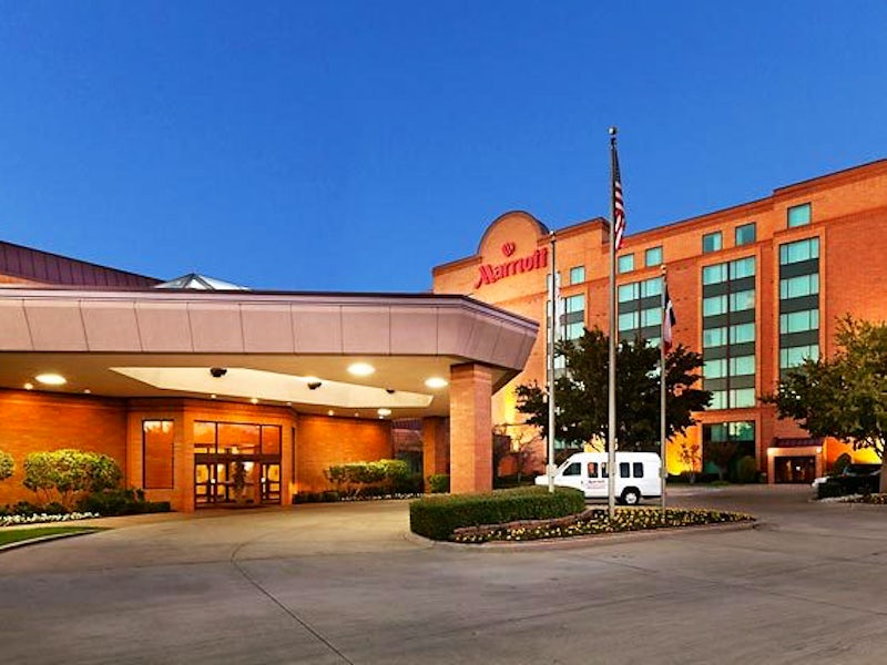 DFW Airport Marriott South in Far West Dallas
