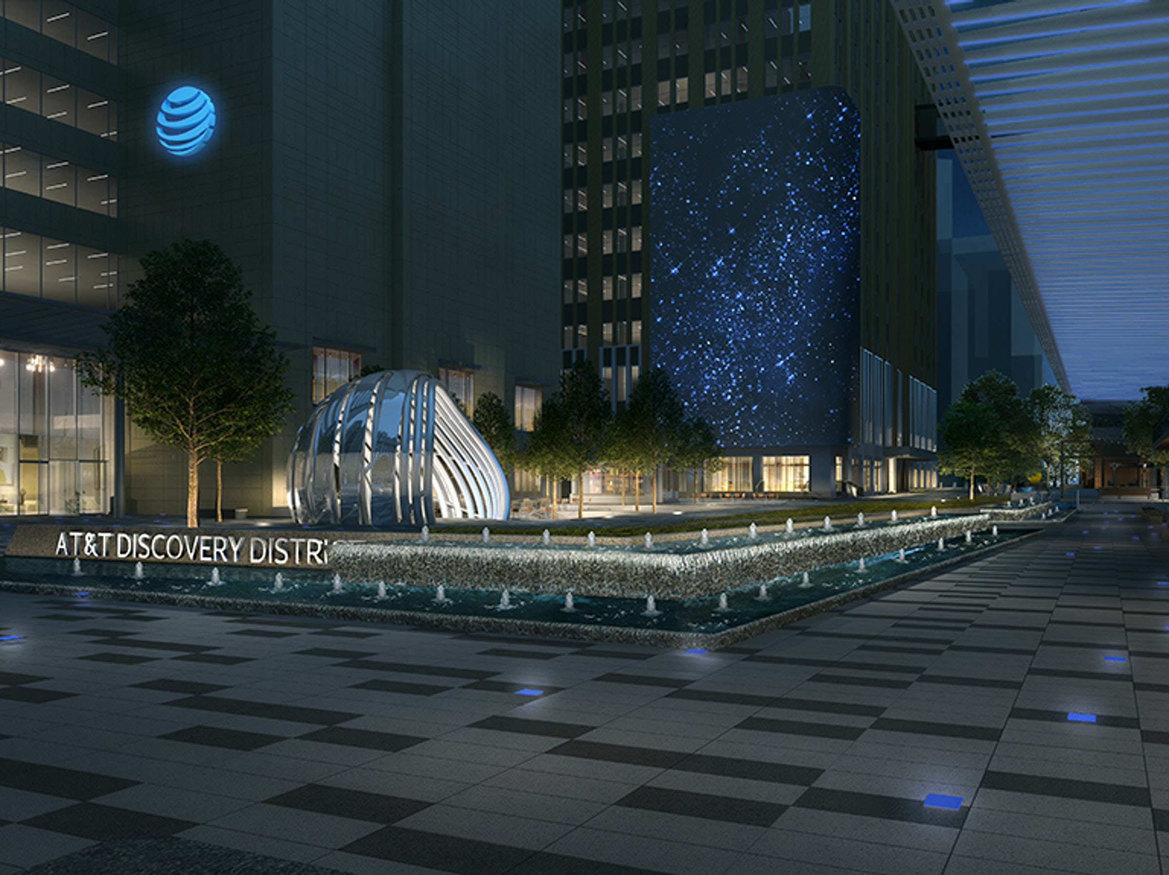 AT&T Discovery District in Beyond Dallas