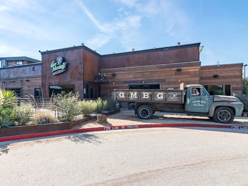Gas Monkey Bar & Grill in Far West Dallas