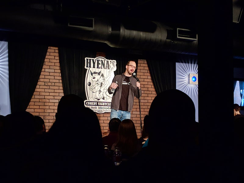 Hyena's Comedy Club in Beyond Dallas