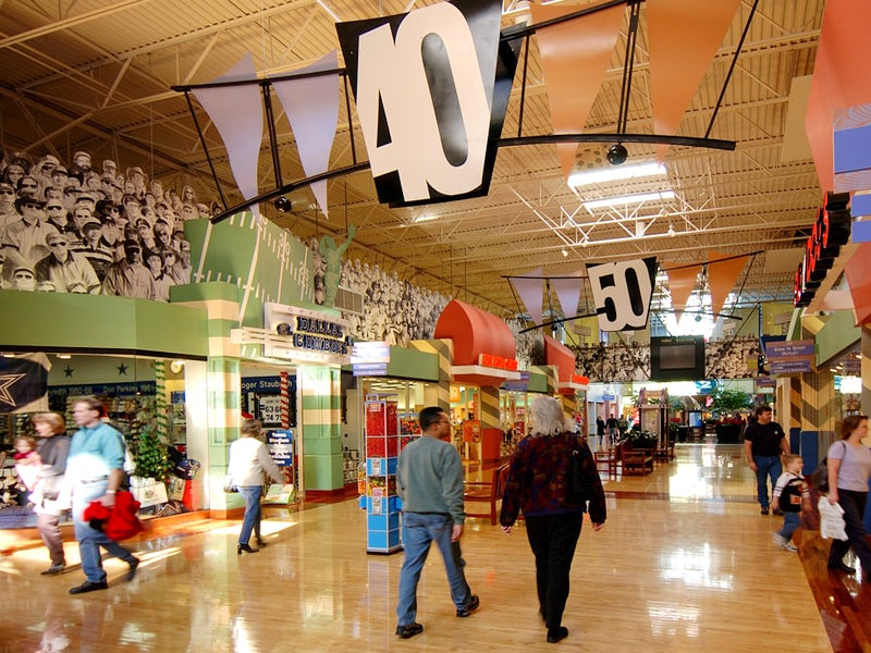 Grapevine Mills is a wonderful climate controlled indoor mall featuring stores of shopping, entertainment, and restaurants. Among the stores at Grapevine Mills features Neiman Marcus Last Call, Saks Fifth Avenue OFF 5TH, H&M, Forever 21, NIKEFactoryStore, Coach Factory, Ann Taylor Factory Store, Under Armour, Disney Outlet, J Crew and much more!