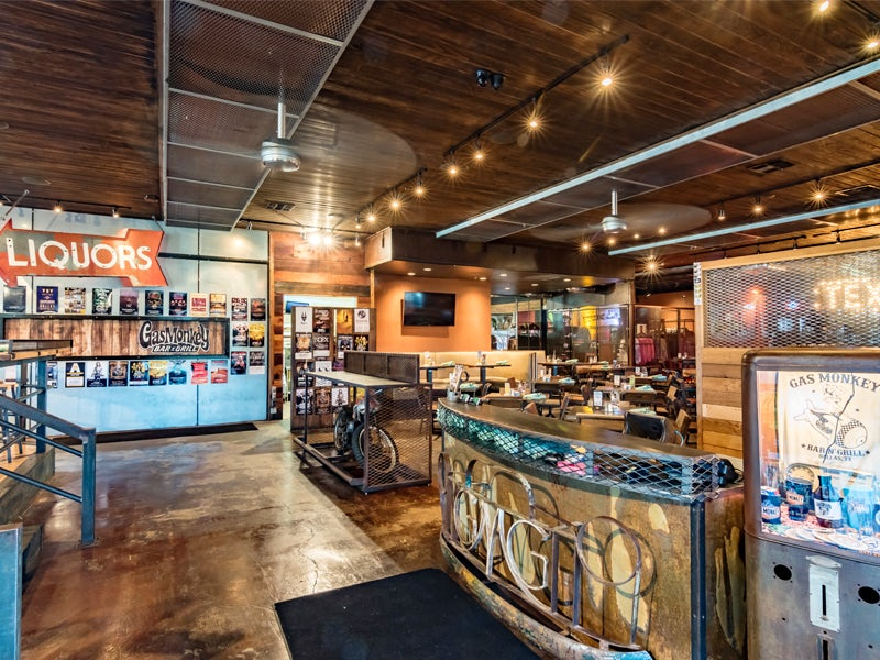 Gas Monkey Bar & Grill in Beyond Dallas