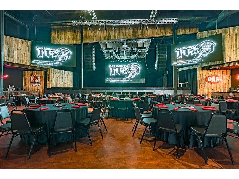 gas monkey live  meeting and event space  visit dallas