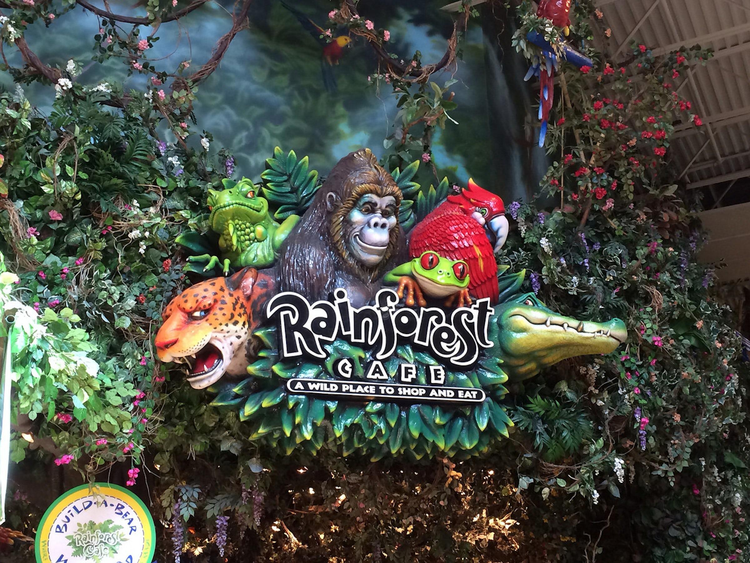 Rainforest Cafe in Beyond Dallas