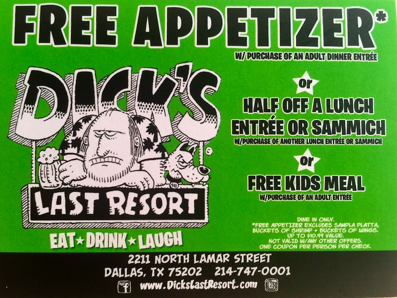 Dick's Last Resort in Beyond Dallas