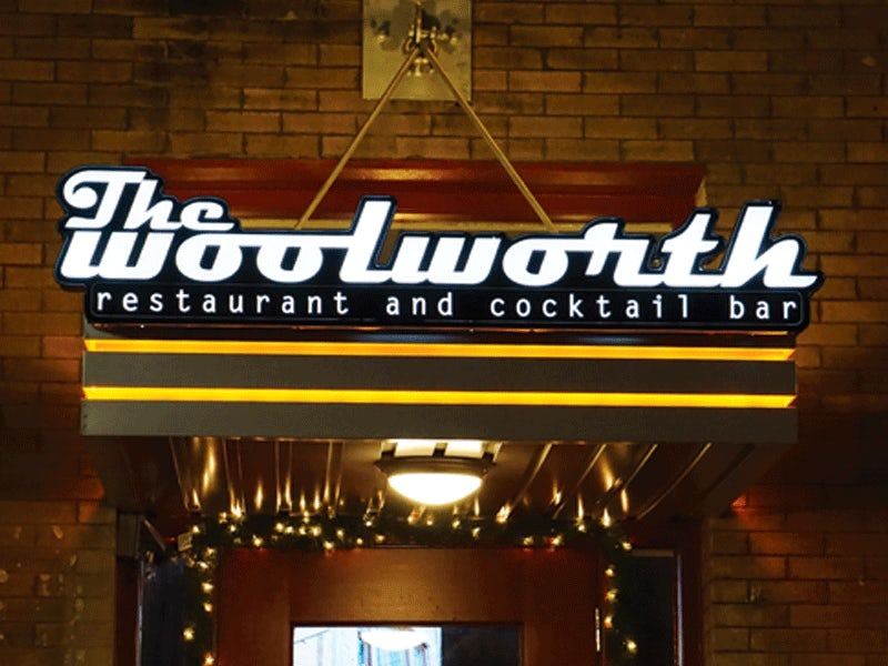 The Woolworth in Downtown