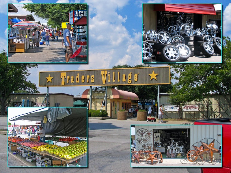 Traders Village LTD in Far West Dallas